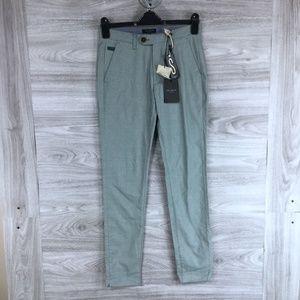 Ted Baker London Tintea Textured Chino Pants